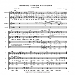 Bruremarsj i tradisjon frå Tresfjord. Copyright (Overøye, Odd Johan). Cantando Musikkforlag AS.