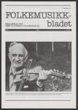 Folkemusikkbladet 1986 - 1