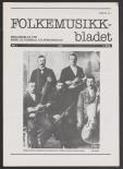 Folkemusikkbladet 1987 - 1