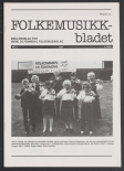 Folkemusikkbladet 1987 - 2