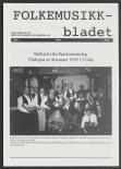 Folkemusikkbladet 1992 - 1