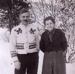 Erik og Magnhild Almhjell.